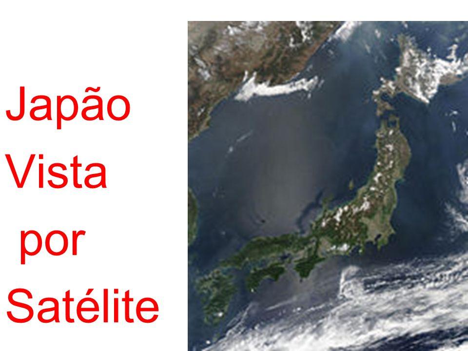 Japão Vista por Satélite