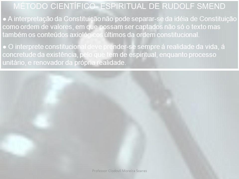 Professor Clodovil Moreira Soares C.