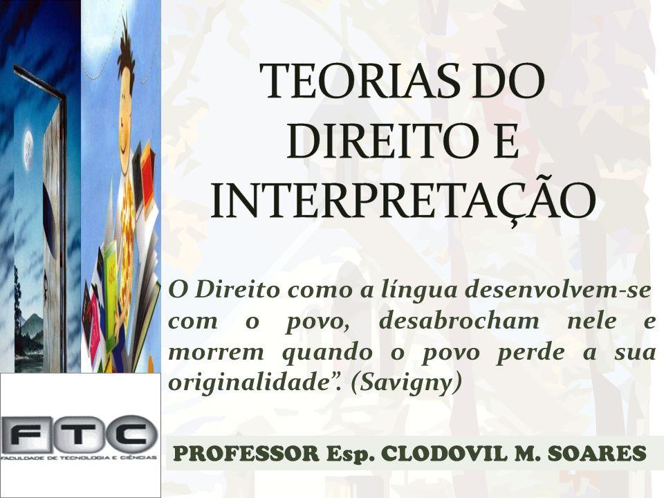PROFESSOR Esp.CLODOVIL M.