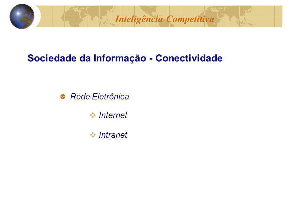 Rede Eletrônica Internet Intranet Inteligência Competitiva Sociedade da Informação - Conectividade
