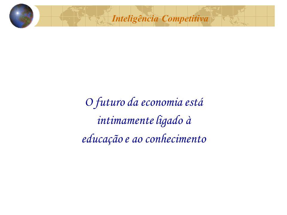 O futuro da economia está intimamente ligado à educação e ao conhecimento Inteligência Competitiva