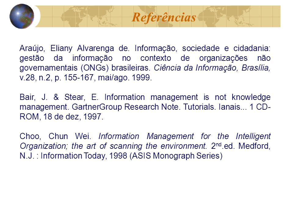 Araújo, Eliany Alvarenga de.