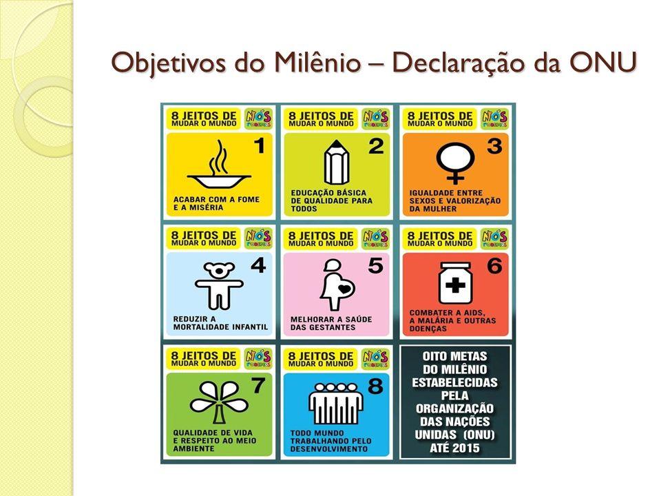 Objetivos do Milênio – Declaração da ONU
