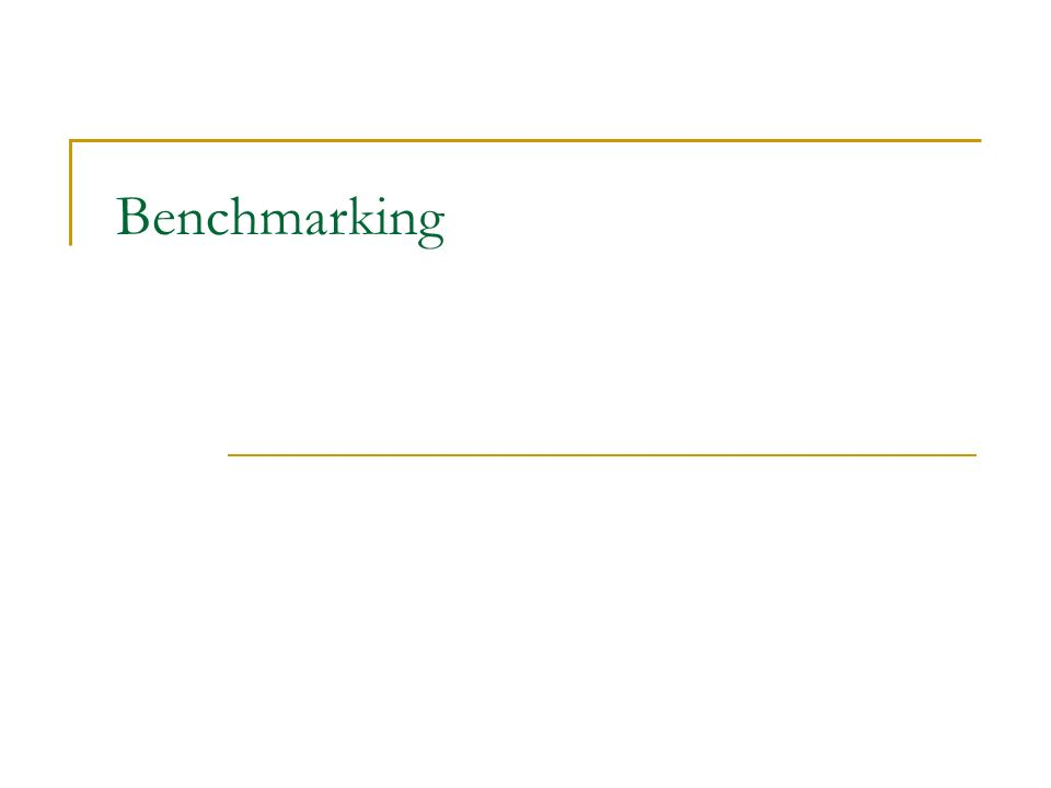 Processo O processo de Benchmarking tem, em geral, 5 fases: Planejamento Coleta de Dados Análise Adaptação Implementação
