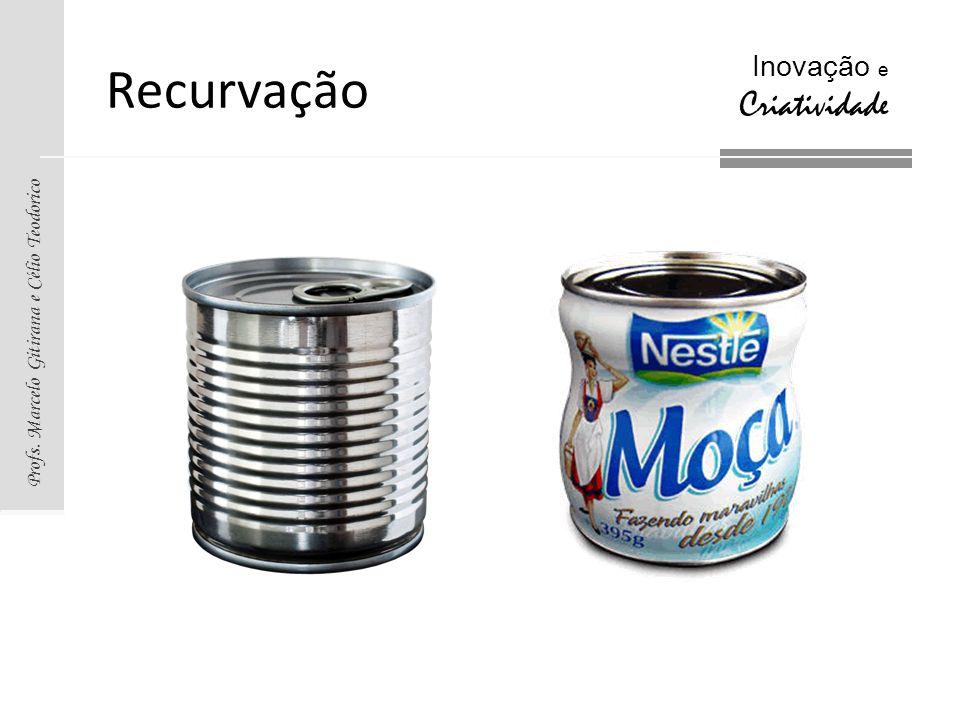 Profs. Marcelo Gitirana e Célio Teodorico Inovação e Criatividade Recurvação