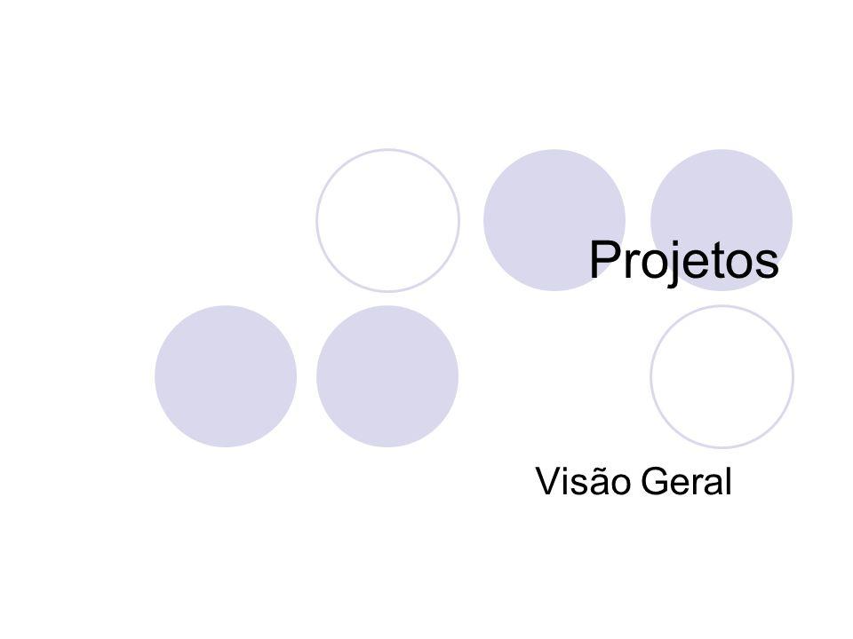 Definição de Projeto Projeto é um esforço temporário empreendido para criar um produto ou serviço único.