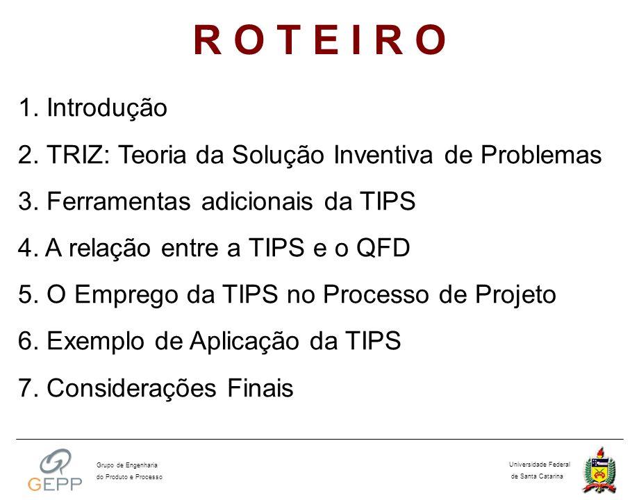 Passo 1, 2 e 3: Levantar as necessidades dos clientes, estabelecer os requisitos de projeto e relacionar as necessidades com os requisitos projeto.