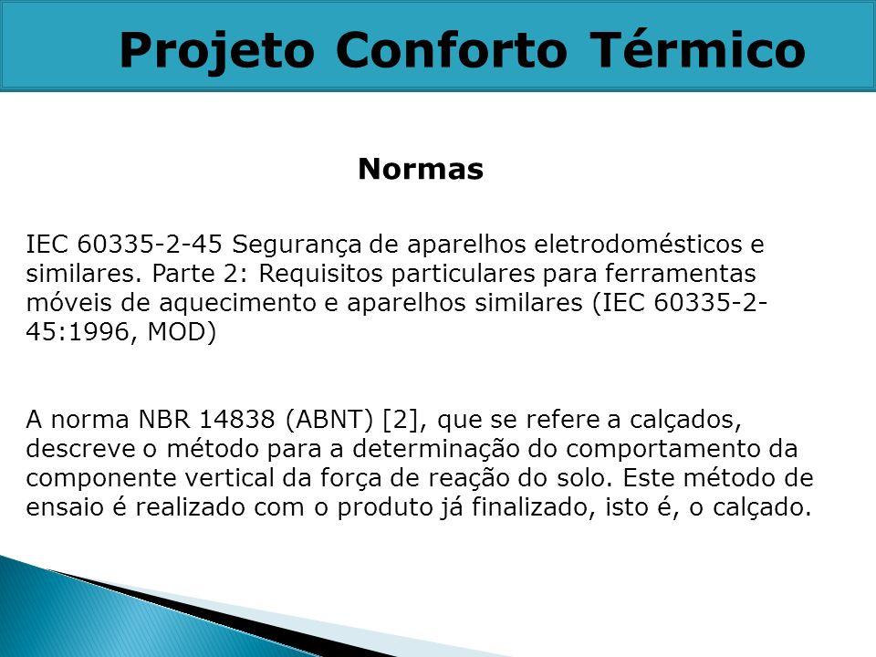 IEC 60335-2-45 Segurança de aparelhos eletrodomésticos e similares. Parte 2: Requisitos particulares para ferramentas móveis de aquecimento e aparelho