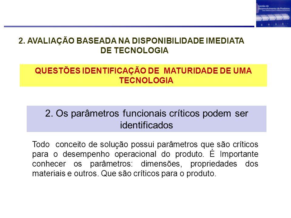 TÉCNICA DE AVALIAÇÃO CONCEITUAL 2.