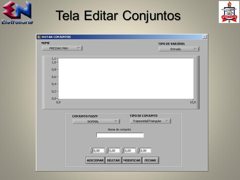 Tela Editar Conjuntos