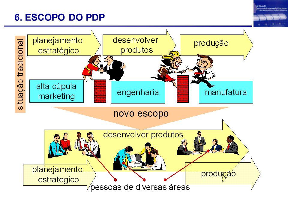 6. ESCOPO DO PDP