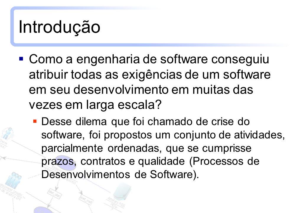 4 Introdução Como a engenharia de software conseguiu atribuir todas as exigências de um software em seu desenvolvimento em muitas das vezes em larga e