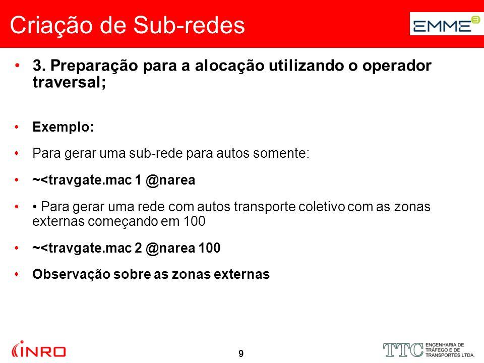 10 Criação de Sub-redes 3.