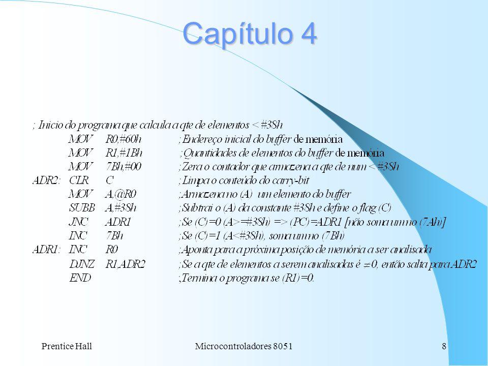 Prentice HallMicrocontroladores 80518 Capítulo 4