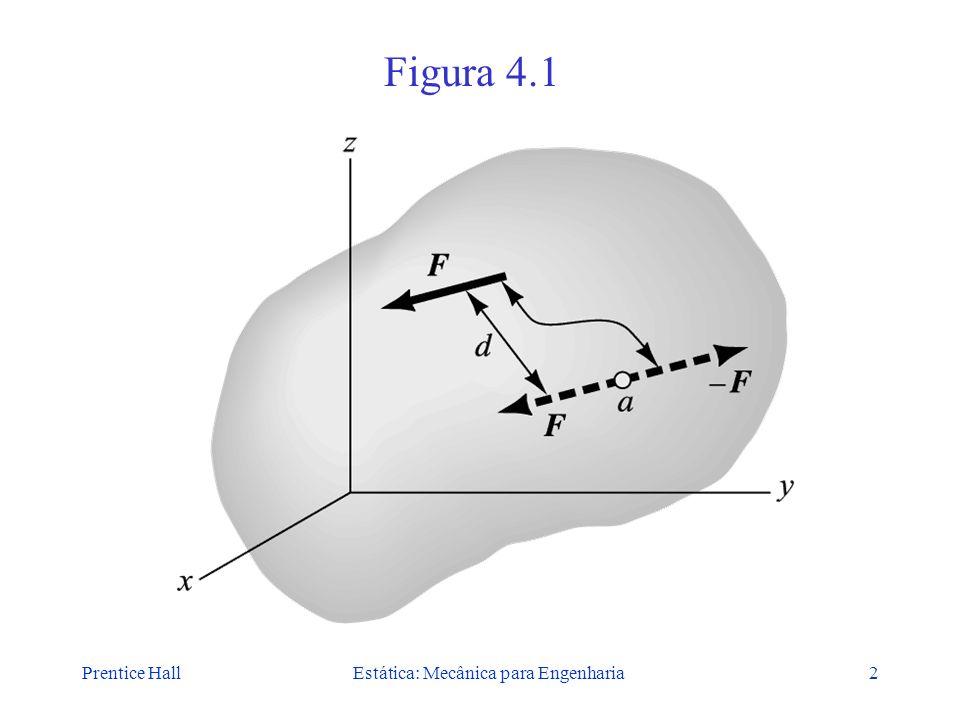 Prentice HallEstática: Mecânica para Engenharia2 Figura 4.1