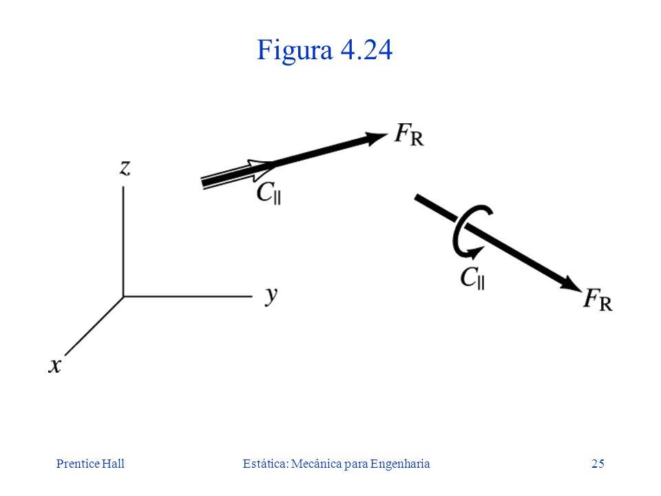 Prentice HallEstática: Mecânica para Engenharia25 Figura 4.24