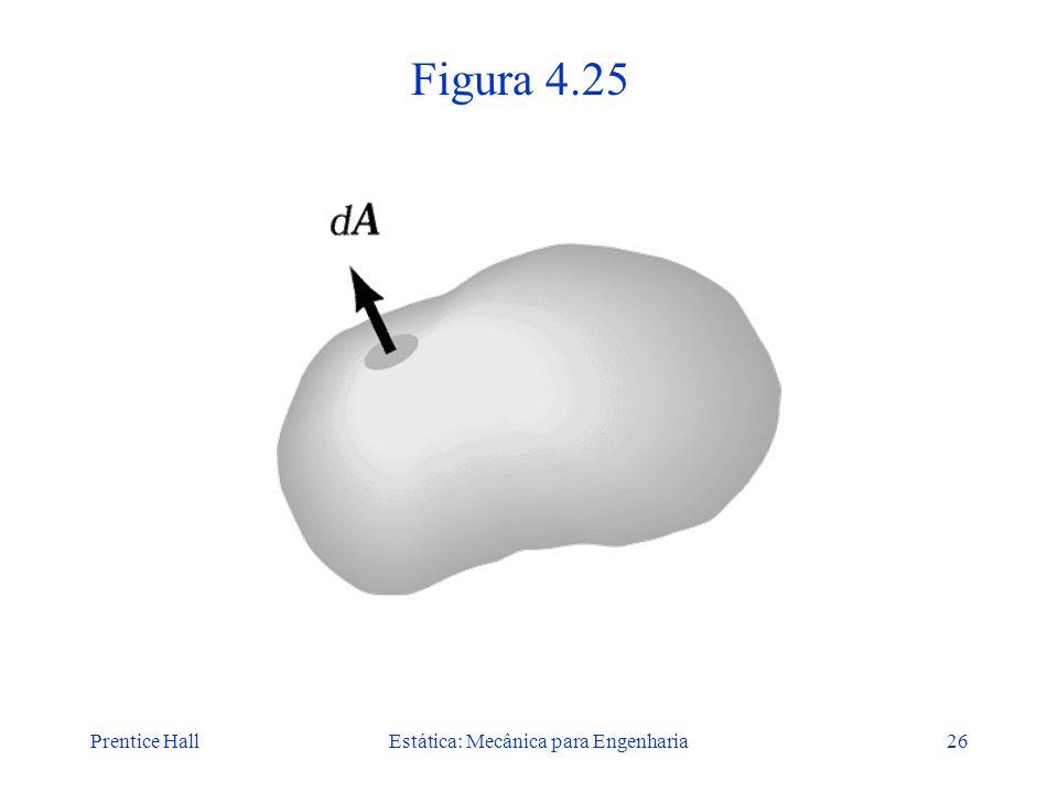 Prentice HallEstática: Mecânica para Engenharia26 Figura 4.25