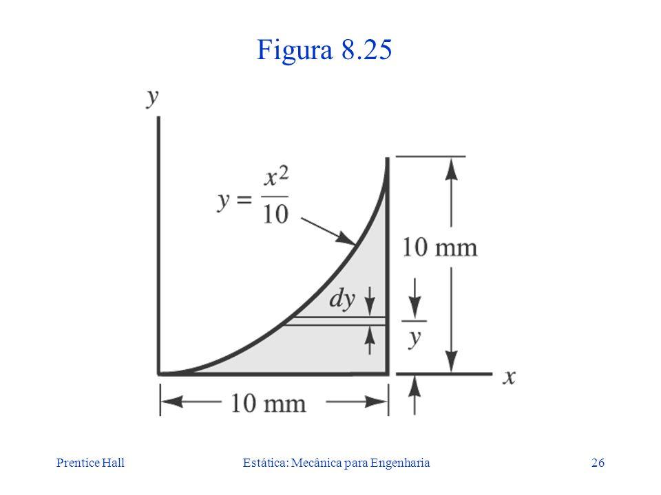 Prentice HallEstática: Mecânica para Engenharia26 Figura 8.25
