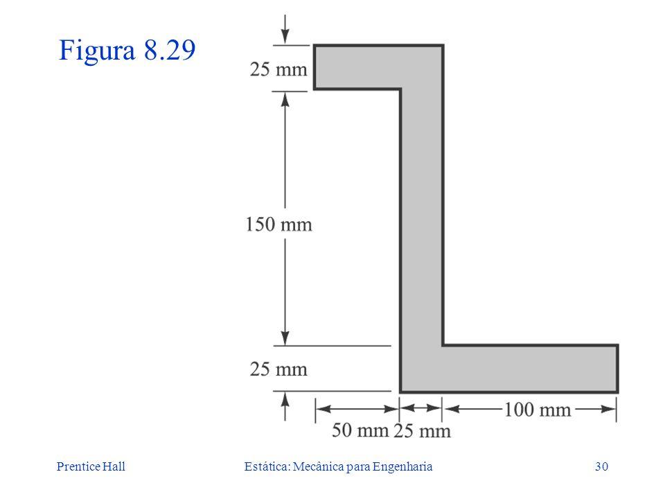 Prentice HallEstática: Mecânica para Engenharia30 Figura 8.29