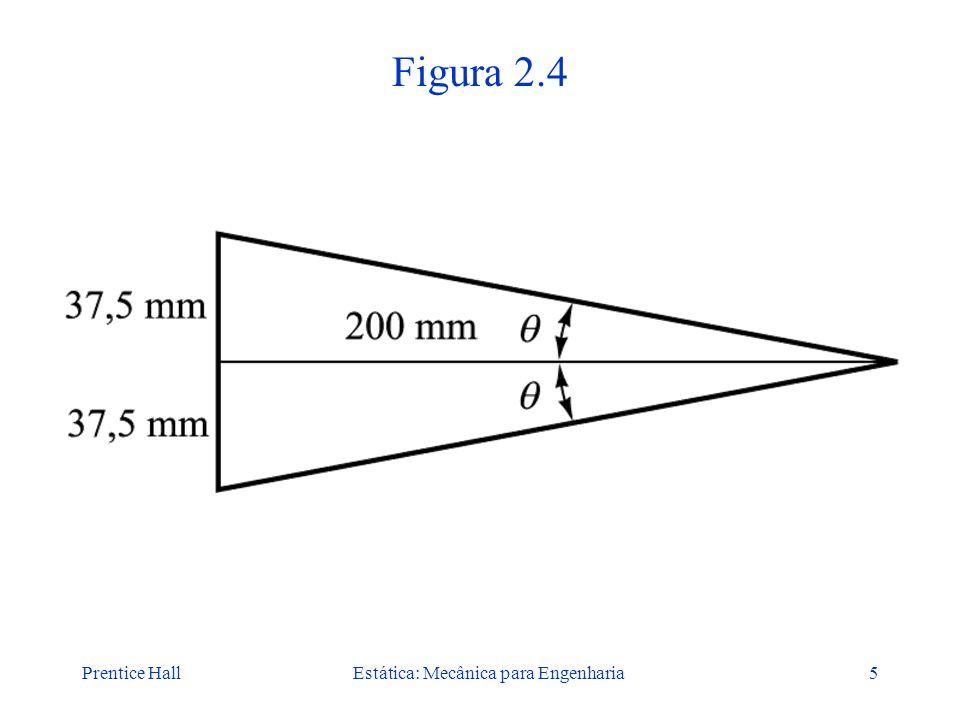 Prentice HallEstática: Mecânica para Engenharia5 Figura 2.4