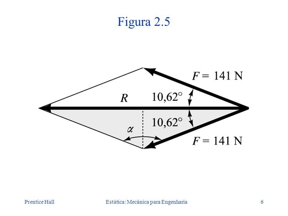 Prentice HallEstática: Mecânica para Engenharia6 Figura 2.5