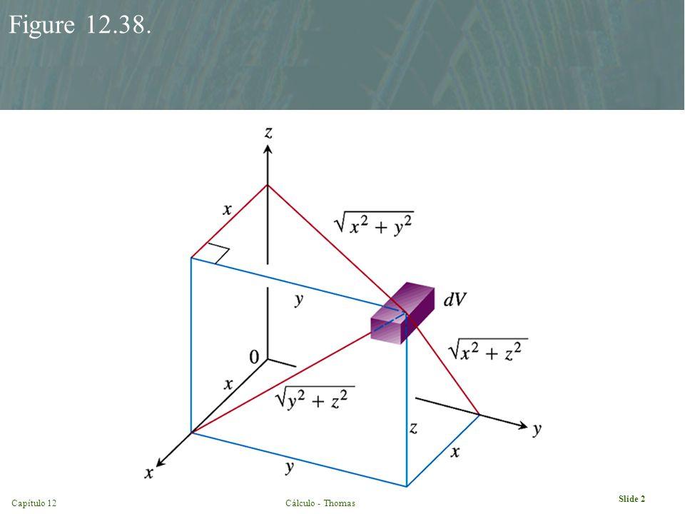 Capítulo 12Cálculo - Thomas Slide 2 Figure 12.38.