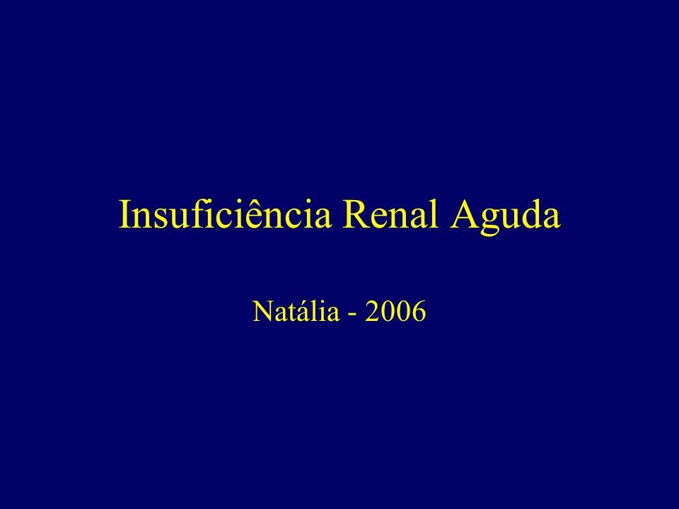 Insuficiência Renal Aguda Natália - 2006