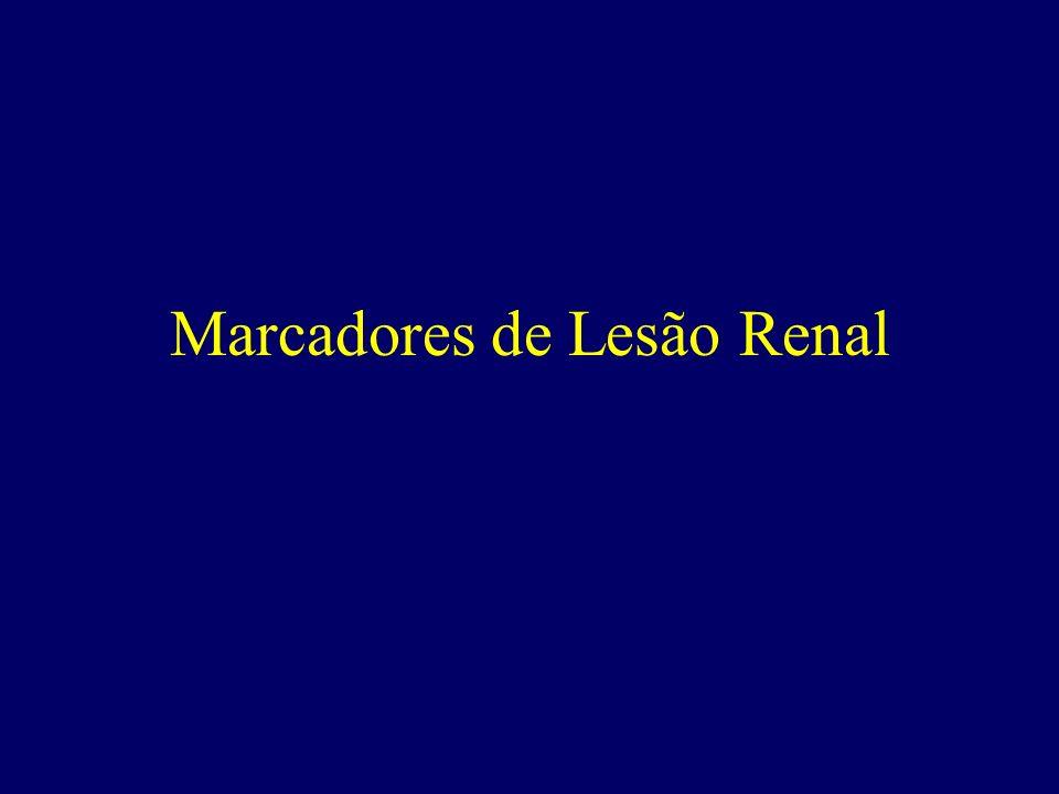 Marcadores de Lesão Renal