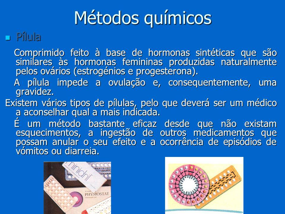 Pílula Pílula Comprimido feito à base de hormonas sintéticas que são similares às hormonas femininas produzidas naturalmente pelos ovários (estrogénio