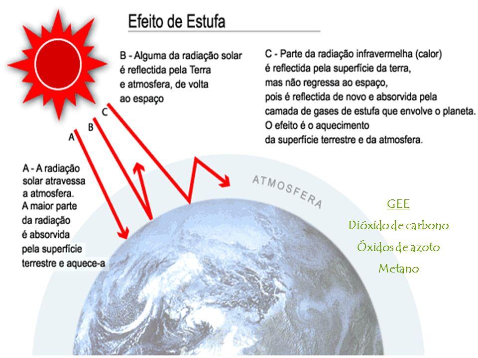 GEE Dióxido de carbono Óxidos de azoto Metano