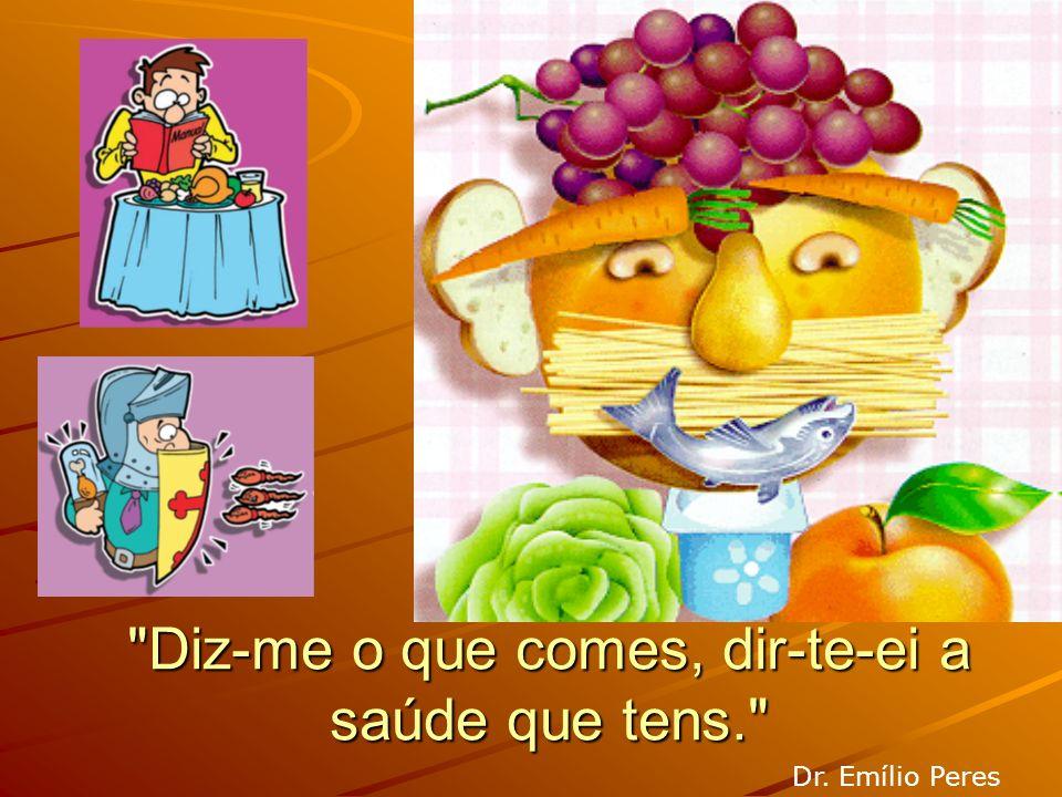 Regras para viver com Saúde 4.Usar e abusar de hortaliças, legumes e frutas; 5.