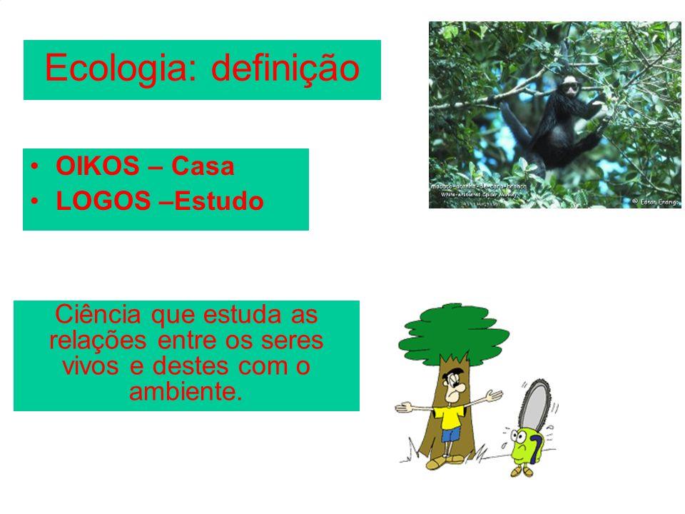CADEIA ALIMENTAR ou CADEIA TRÓFICA Transferência de energia alimentar, a partir dos vegetais, por uma série de organismos.