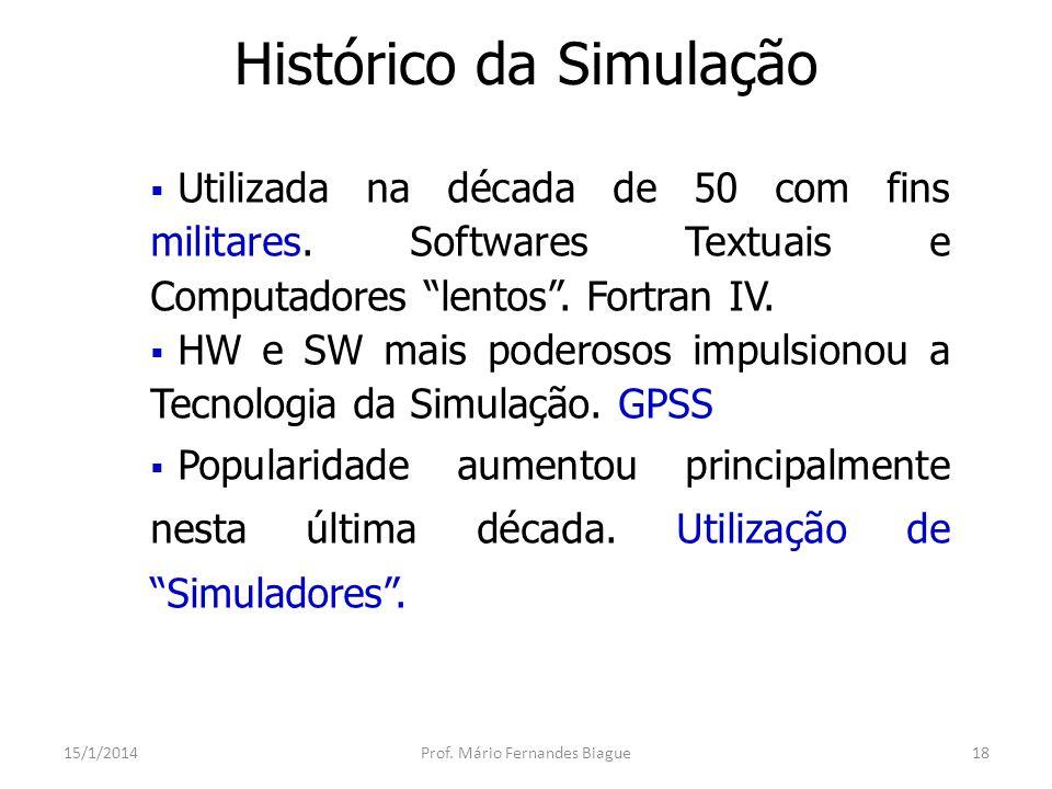 Por que Simular.15/1/2014Prof.