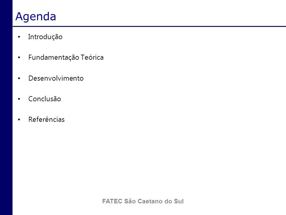 FATEC São Caetano do Sul Especificação funcional O grupo criou um artefato de software contendo toda a especificação funcional do cenário proposto.