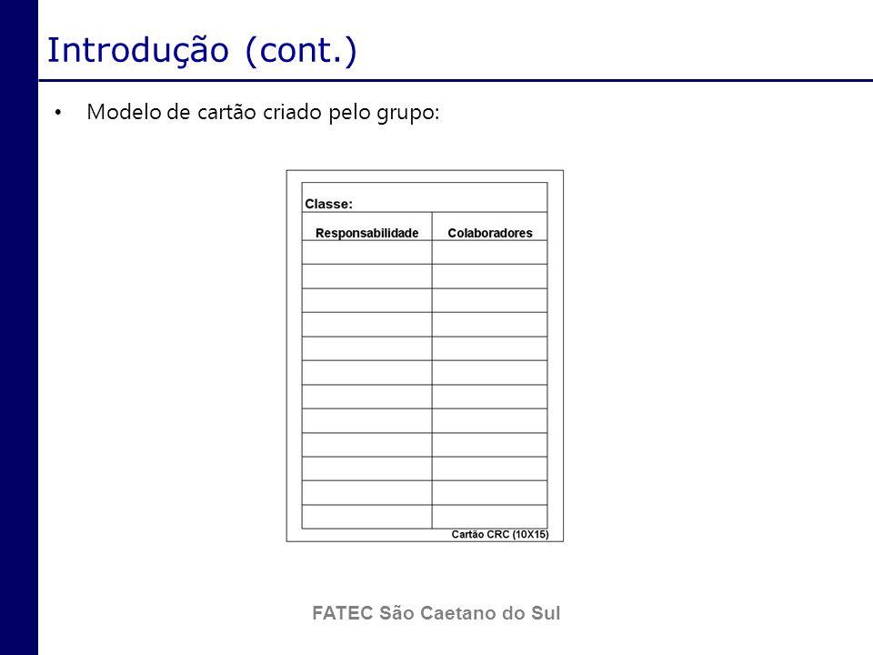 FATEC São Caetano do Sul Fundamentação Teórica