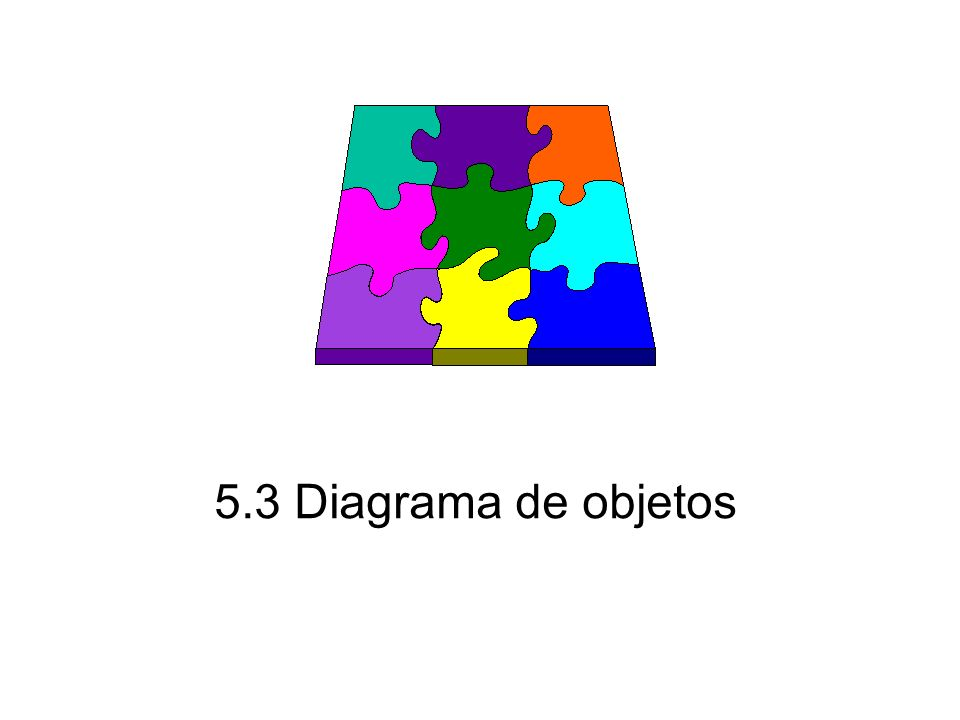 5.3 Diagrama de objetos
