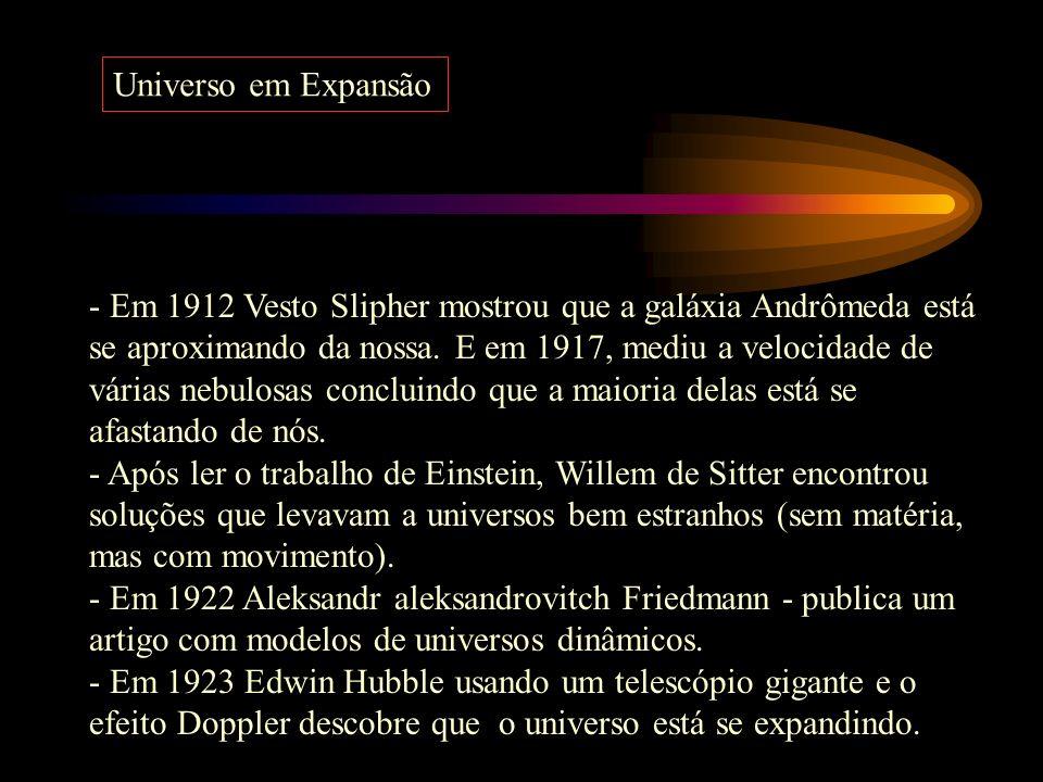 A teoria da Relatividade de Einstein fez com que olhássemos para o universo de uma outra forma. Suas equações matemáticas faziam uma relação direta en