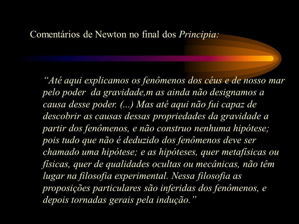 Sir Isaac Newton 1642-1727 Da filosofia Natural à Física