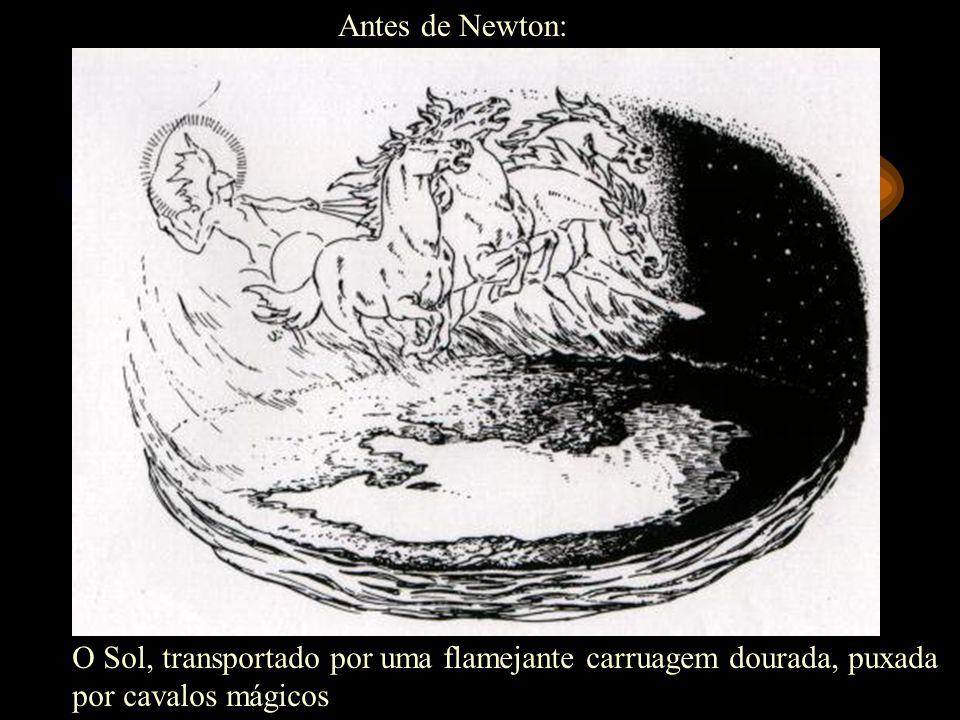 Mas deixou claro que ele acreditava na existência de um criador: Este magnífico sistema do Sol, planetas e cometas poderia somente proceder do conselh