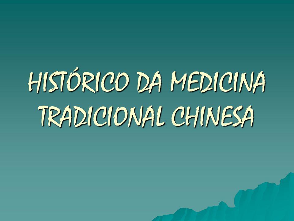 HISTÓRICO DA MEDICINA TRADICIONAL CHINESA