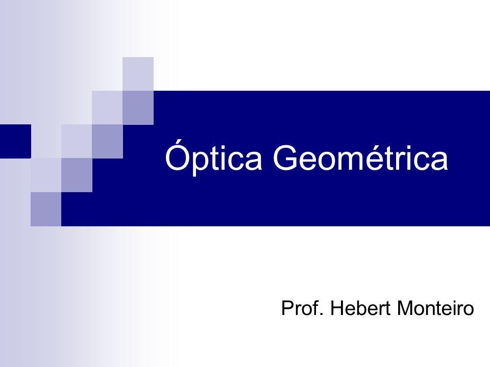 Prof. Hebert Monteiro Óptica Geométrica