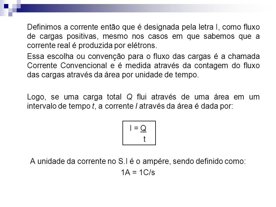 4) Um fio de cobre possui uma seção reta com área 8,20 x 10 -7 m 2 e diâmetro igual a 1,02mm.