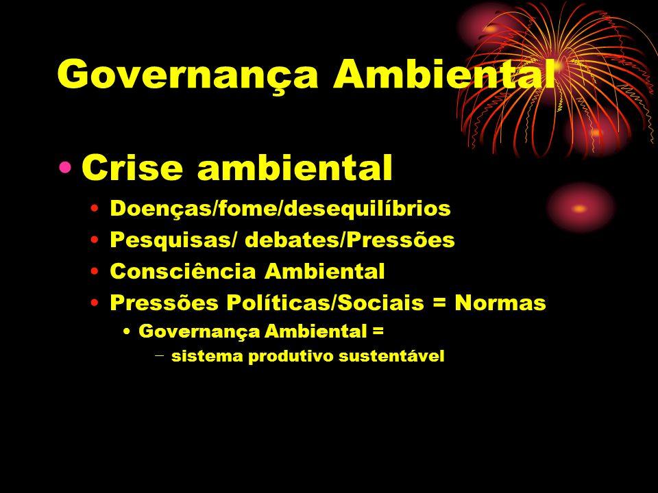Governança Ambiental Normas e gestão ambiental I.S.O.
