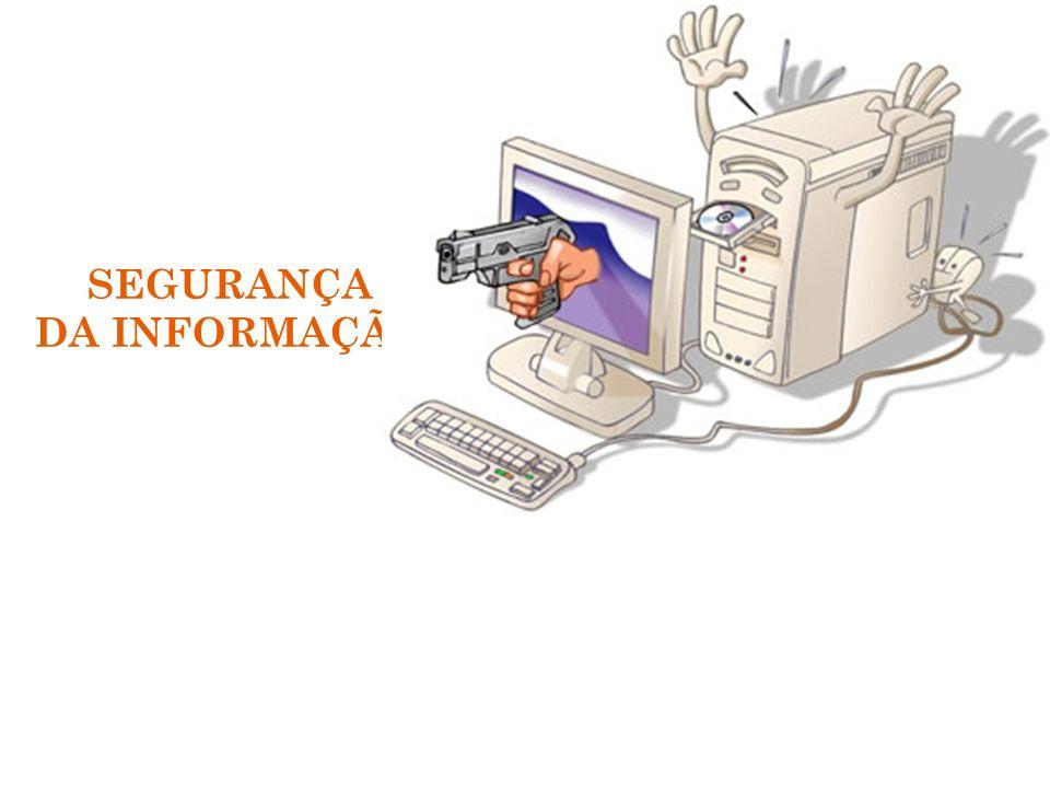 F IREWALL O firewall pode: bloquear o tráfego: proteger a rede de entrada de usuários estranhos; liberação controlada: permite a entrada na sua rede somente por usuários previamente selecionados; O que um firewall não faz: vírus-novas ameaças: ele protege sua rede contra ataques conhecidos, ou seja, ameaças novas não serão protegidas; integridade das informações: um firewall não pode garantir que as informações são íntegras e que não foram interceptadas ou alteradas; 32