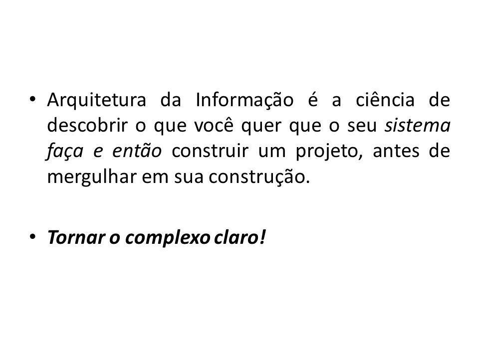 Porque a arquitetura da informação é tão importante.