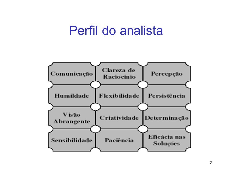 Perfil do analista 8