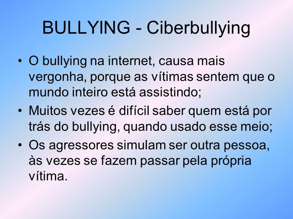 BULLYING – Vigiar é Proteger.