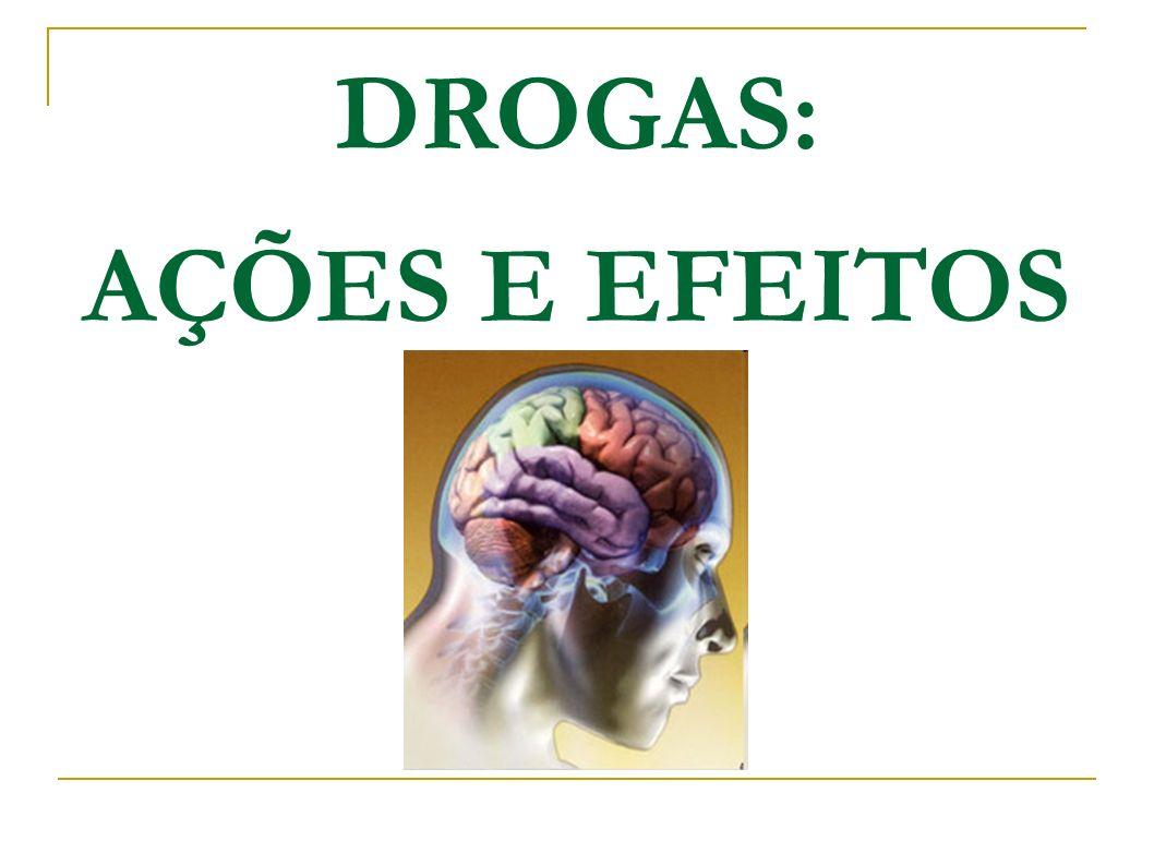 DROGAS: AÇÕES E EFEITOS