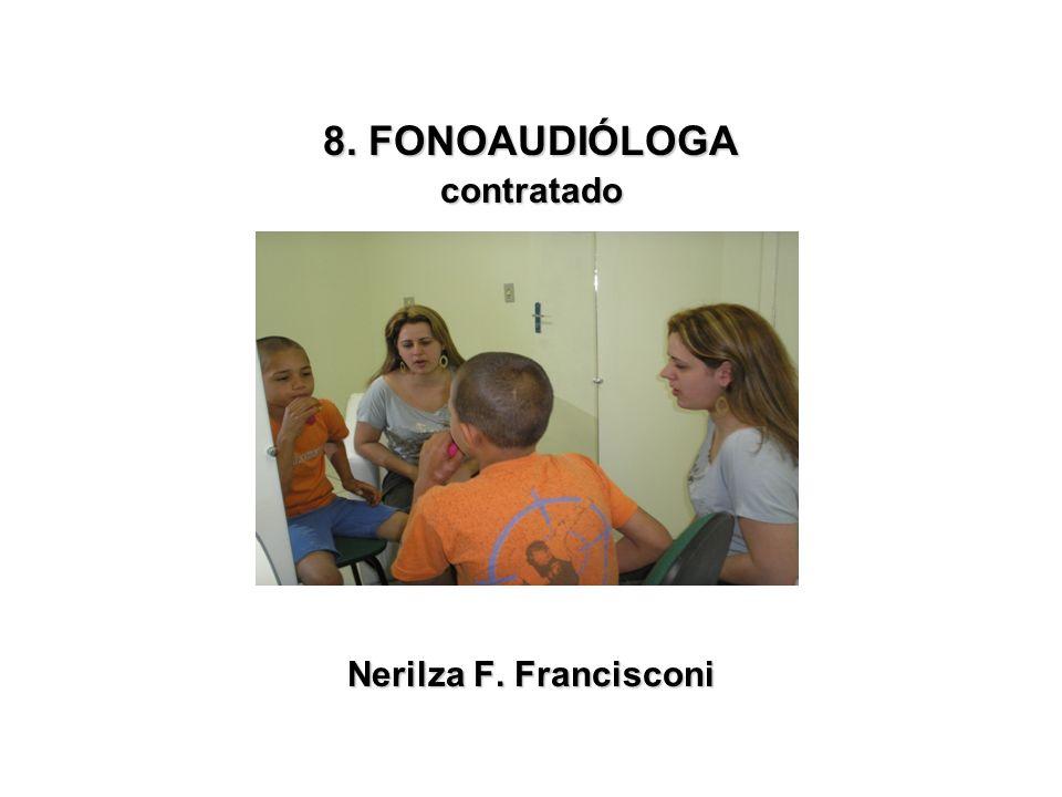 8. FONOAUDIÓLOGA contratado Nerilza F. Francisconi