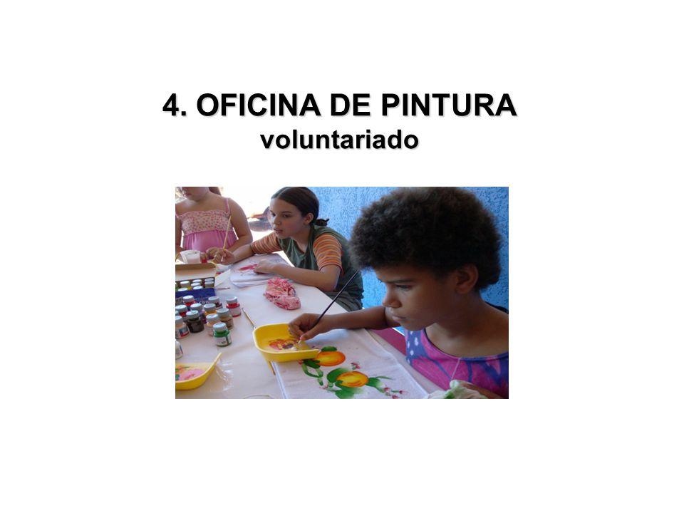 4. OFICINA DE PINTURA voluntariado